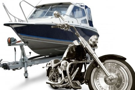 We can ship a car, truck, motorcyle, boat, and more